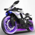 摩托车交通特技游戏