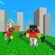 3D积木像素大战